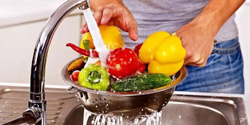 ¡importante! lavar, siempre, bien frutas y verduras