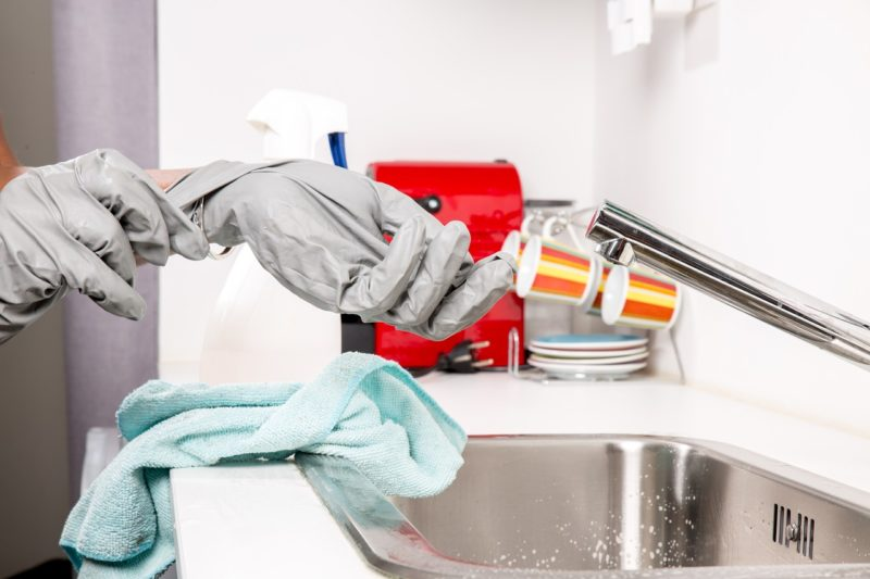 Guía para limpiar la cocina a fondo