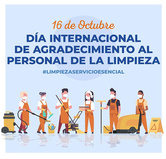 Dia internacional del agraïment al personal de la neteja